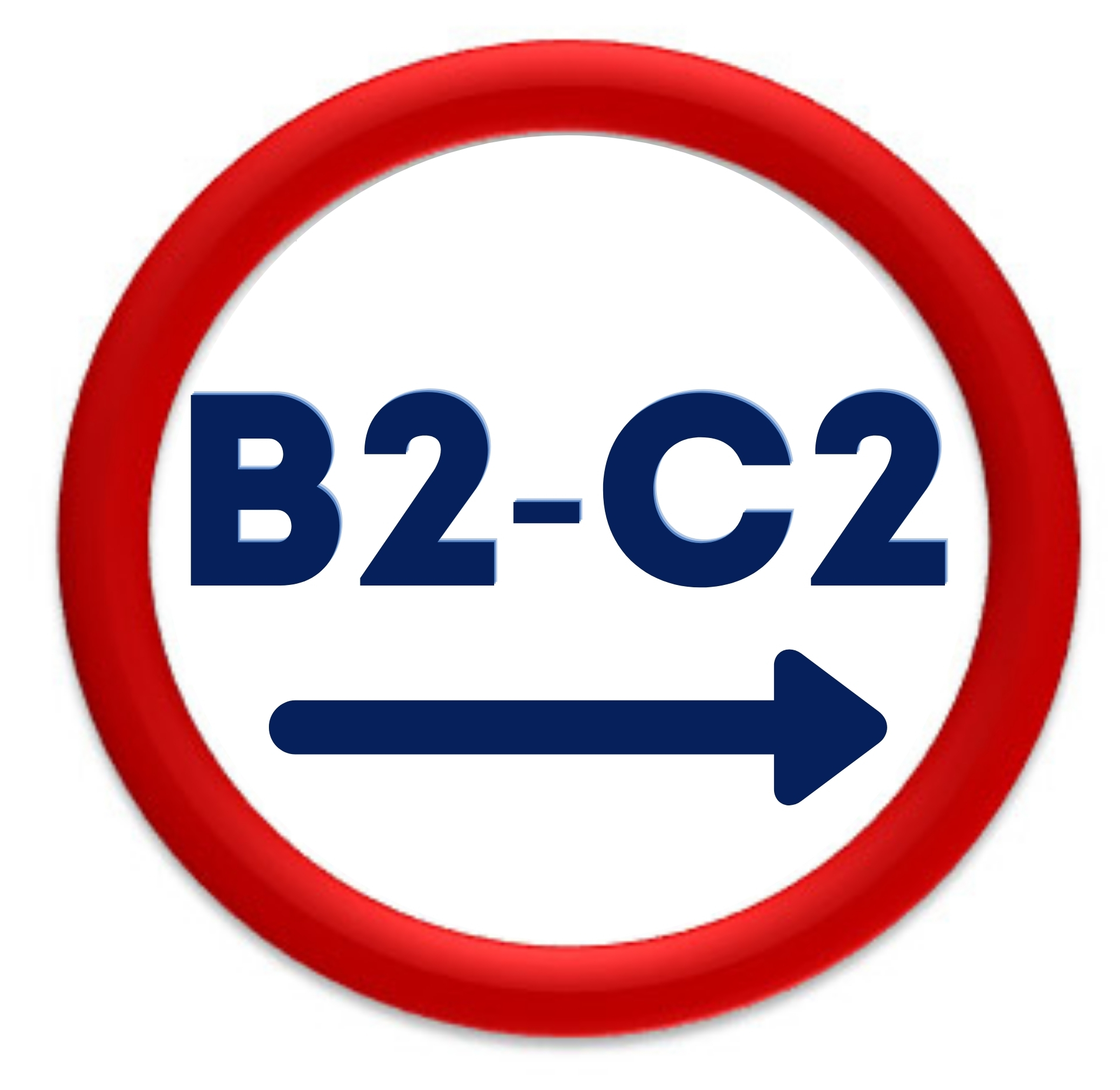 b2 to c2